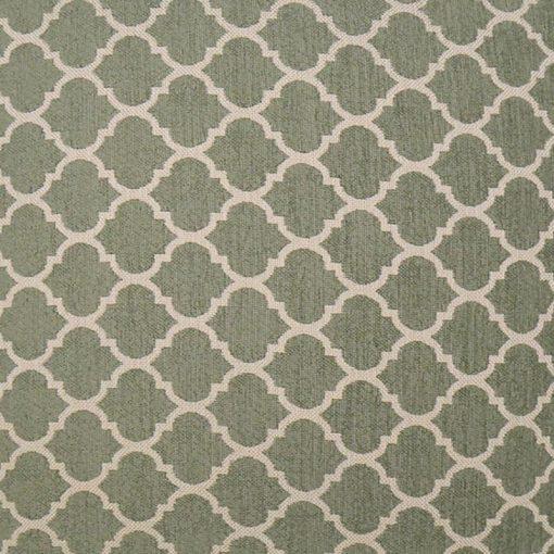 sierkussen groen patroon mint