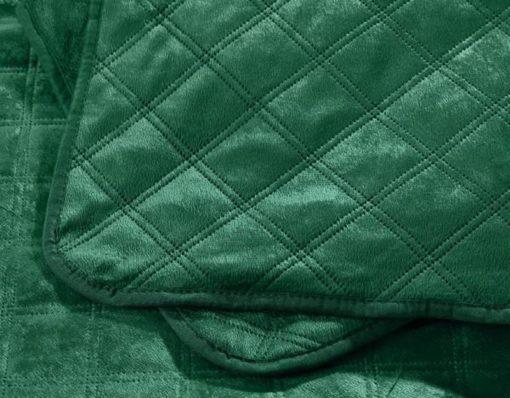groene bedsprei