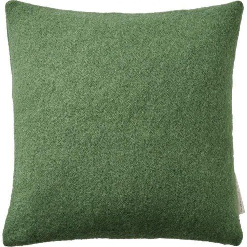 kussen groen wol meadow