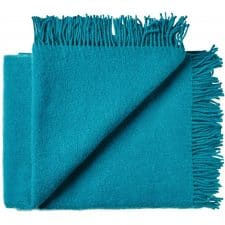 plaid turquoise wol silkeborg