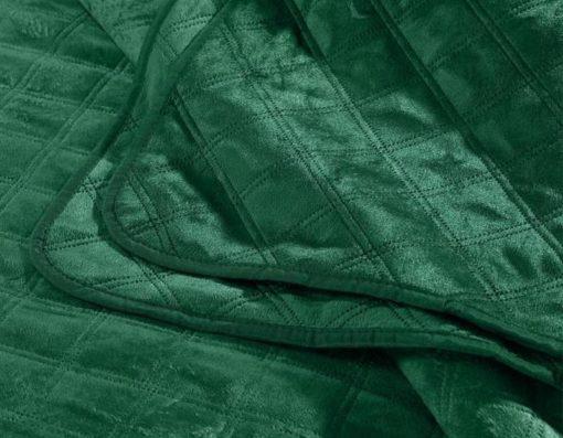 sprei groen bed velvet