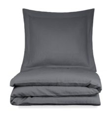dekbedovertrek grijs linnen remy house in style