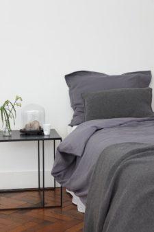 dekbedovertrek grijs linnen house in style
