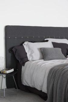 dekbedovertrek grey bluw grijs linnen house in style remy