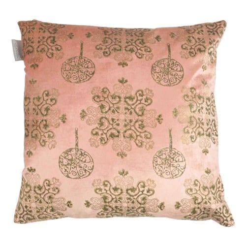 kussen roze goround fluweel cashew pink