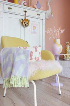 lila plaid wol