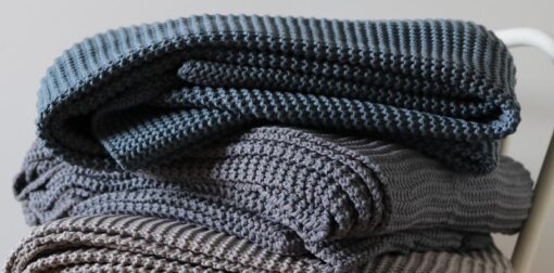 plaid blauw grijs natural