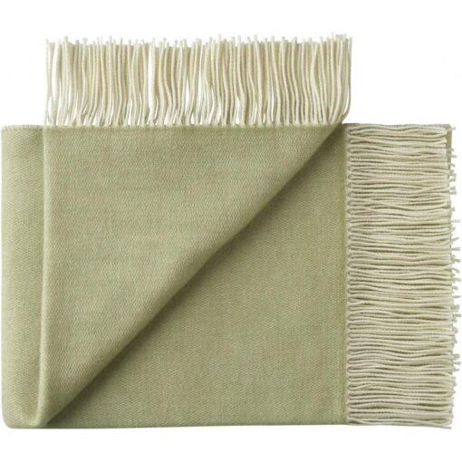 plaid groen merinowol