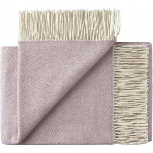 plaid lila paars lavendel merinowol