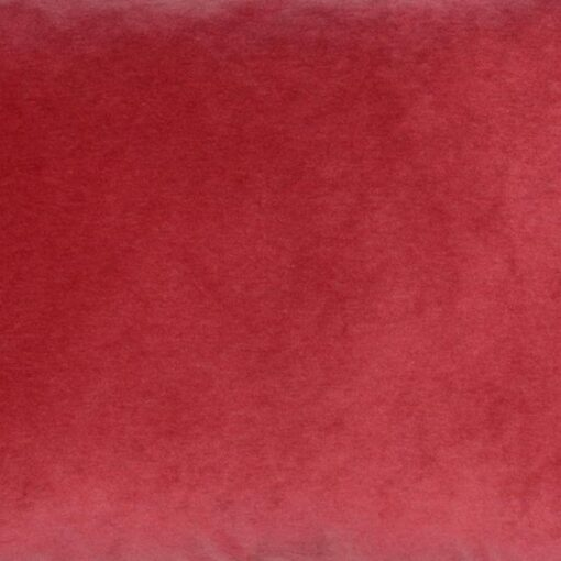 kussen rozerood rood velvet