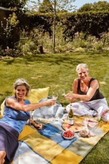 picknick kleed wol ruiten