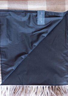 picknickkleed bruin waterproof wol
