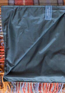 picknickkleed waterproof oranje blauw