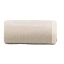 plaid grand foulard beige zand katoen diamant