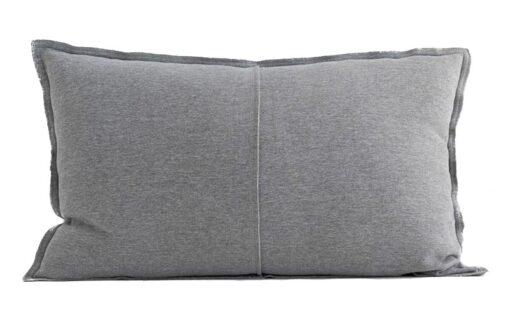 Kussen katoen grijs jersey moyha cuddle