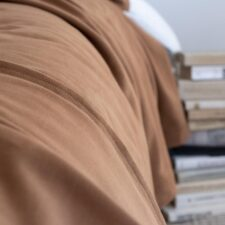 Sprei camel katoen jersey moyha