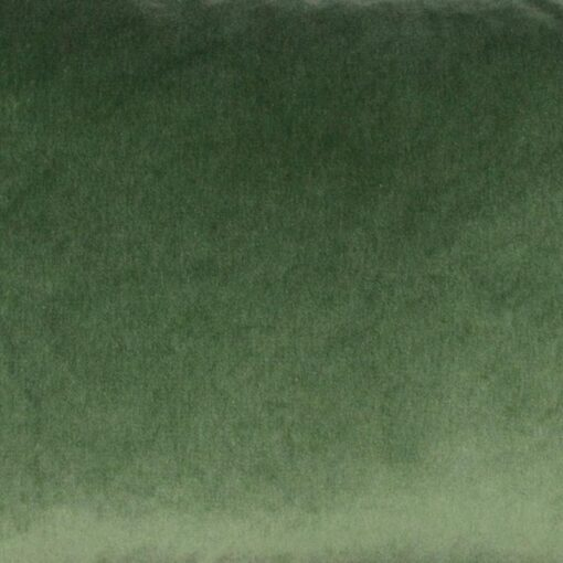 kussen groen velvet raaf detail