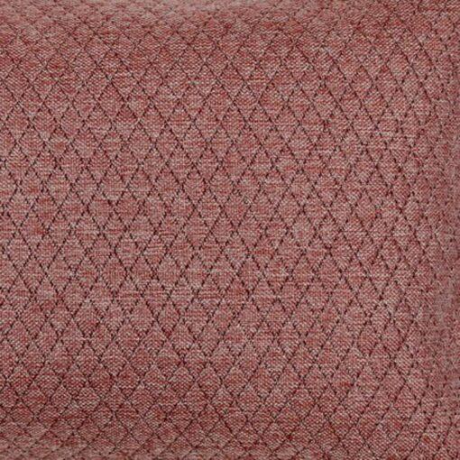 kussen rood rozenbottel detail