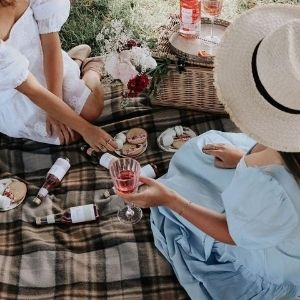 picknickkleden wol ruiten