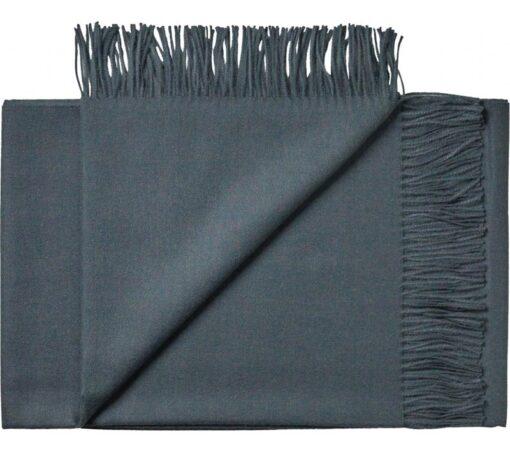 plaid blauw petrol alpacawol silkeborg
