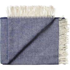 plaid blauw wol alpaca silkeborg sevilla