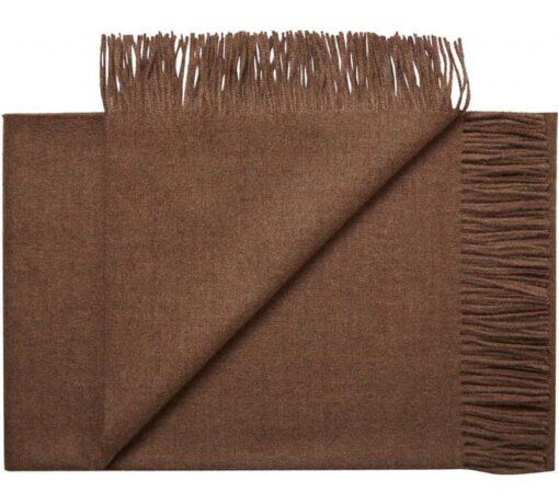 plaid bruin alpacawol red brown silkeborg