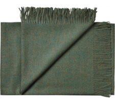 plaid groen mosgroen alpacawol silkeborg