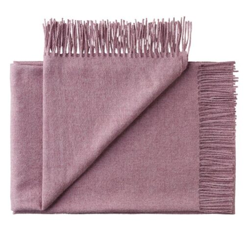 plaid lila lavendel alpacawol silkeborg
