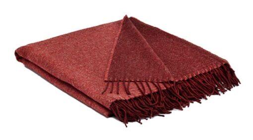 plaid rood koraalrood mcnutt wol