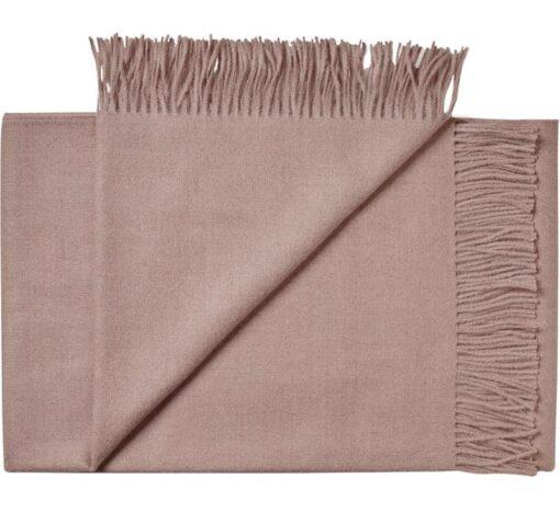 plaid roze alpacawol dustyrose silkeborg