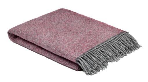 plaid roze grijs wol mcnutt