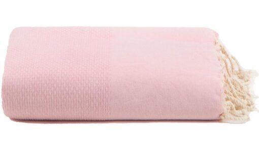 plaid roze lichtroze grand foulard