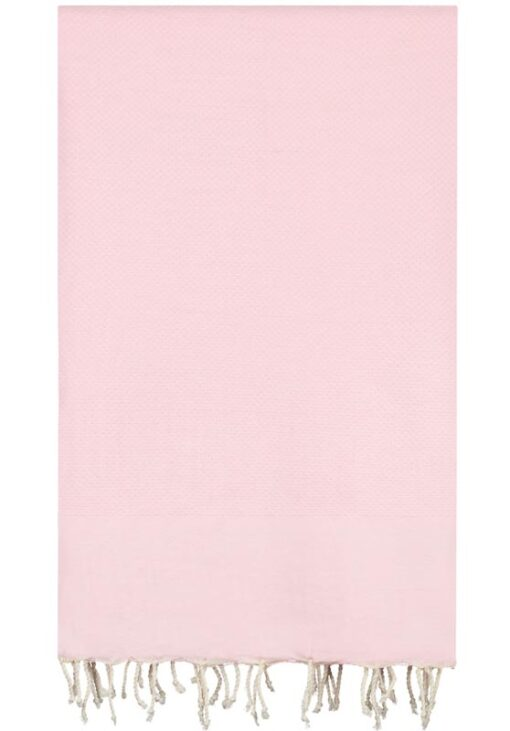 plaid roze lichtroze katoen grand foulard