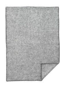 wiegdeken wol grijs klippan domino