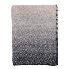 ledikantdeken grijs lamswol klippan havanna