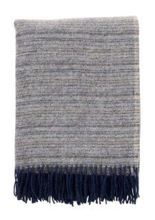 plaid blauw donkerblauw wol klippan alaska