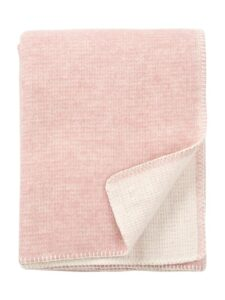 plaid roze klippan lamswol harmony