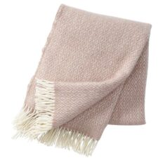 plaid roze wol nude stella klippan