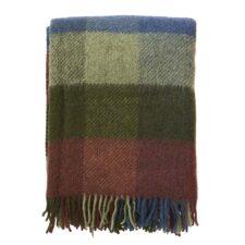 plaid groen bordeaux wol gotland klippan
