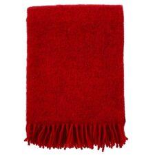 plaid rood wol gotland klippan