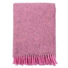 plaid roze gotland wol klippan