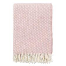 plaid roze lamswol klippan preppy