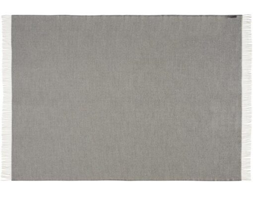 plaid grijs lichtgrijs alpacawol silkeborg