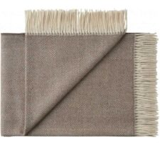 plaid antique oak brown alpaca silkeborg