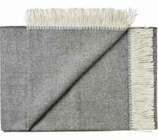 plaid grijs donkergrijs alpaca wol silkeborg