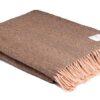 plaid roze bruin roasted coffee wol