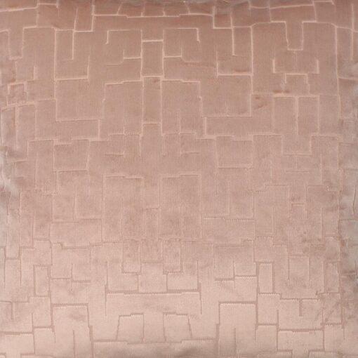 sierkussen roze velours groot raaf packman