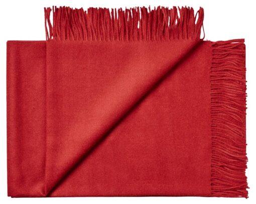 plaid rood baby alpacawol lima silkeborg