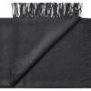 plaid zwart baby alpacawol lima