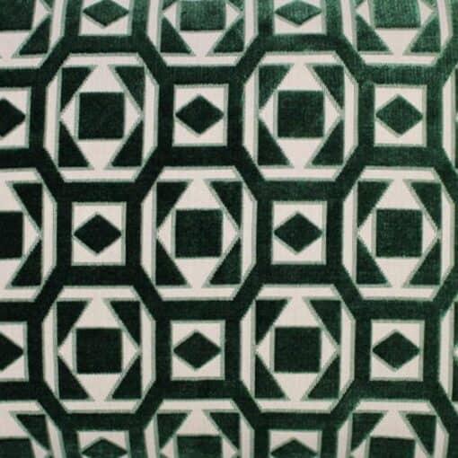 kussen groen raaf velvet detail saloua